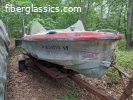 1957 Larson Thunderhawk Jr. 15' needs restoration