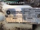 1970's Chrysler 55hp parts motor