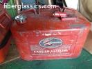 Mercury gas tanks - early 60's.