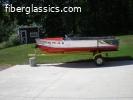 Vintage 1959 12' Crestliner Commander and trailer