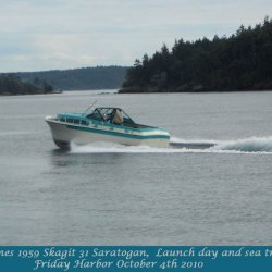 Saratogan launch and sea trials-caption-S