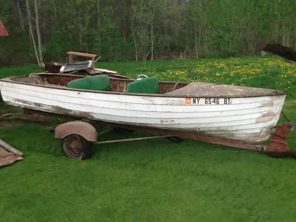FiberGlassics® - Wooden Boat For Sale, Buffalo, NY