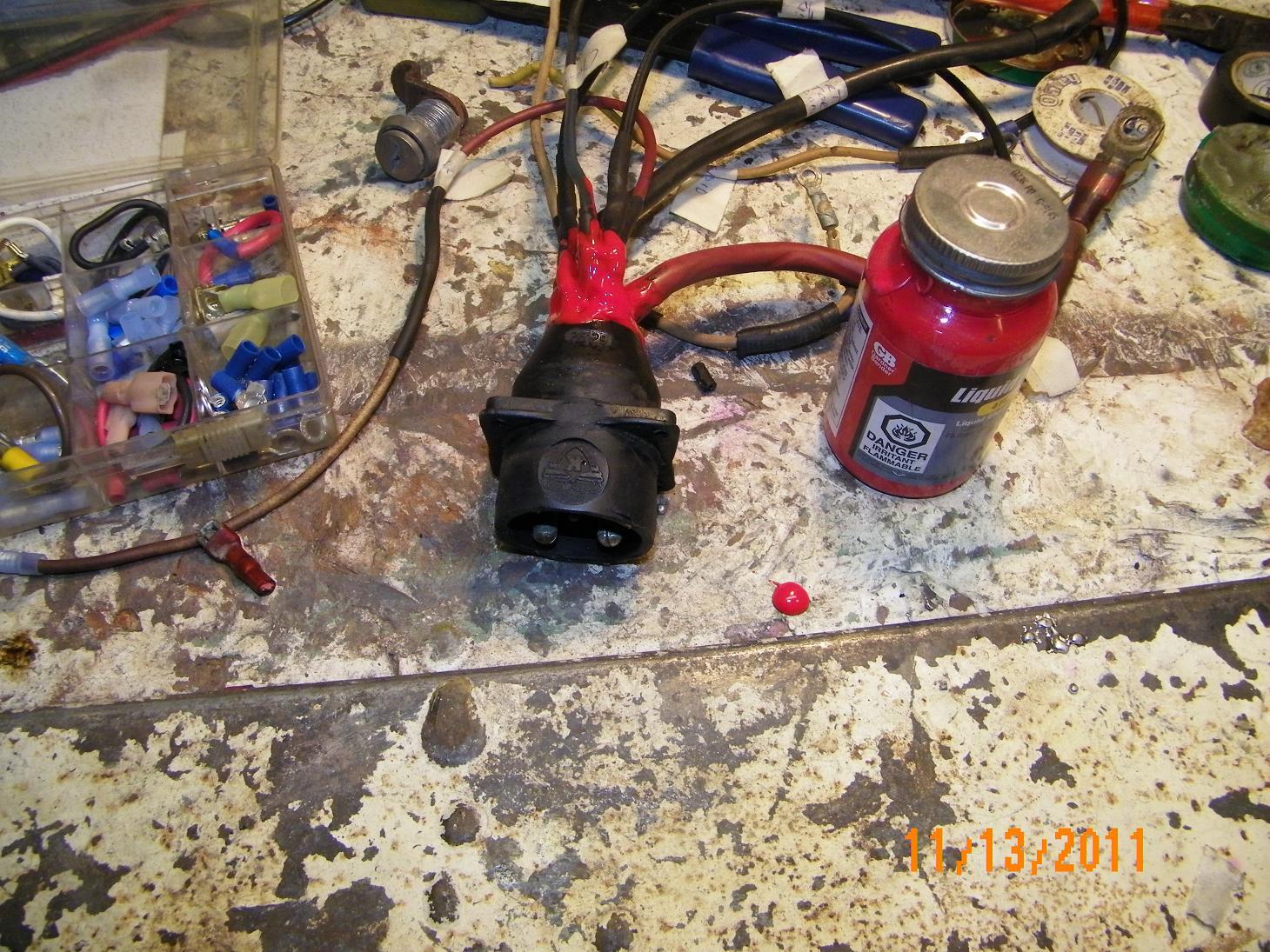 Fiberglassics Mark 58ae Wire Harness Forums Seal Check