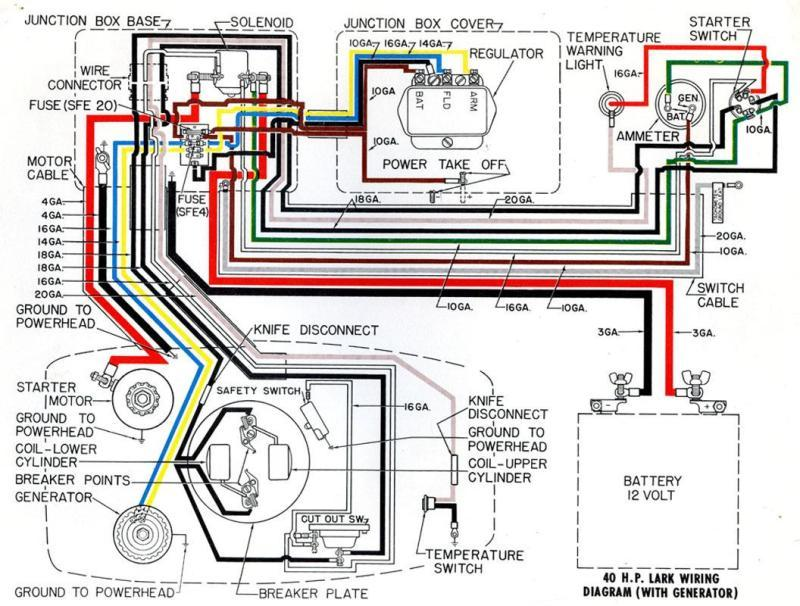 40_hp_wiring marine tachometer wiring diagram marine ignition switch wiring  at creativeand.co