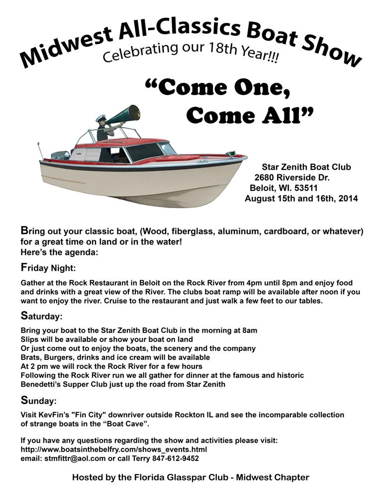 FiberGlassics® - Midwest All-Classics Boat Show - FiberGlassics ...