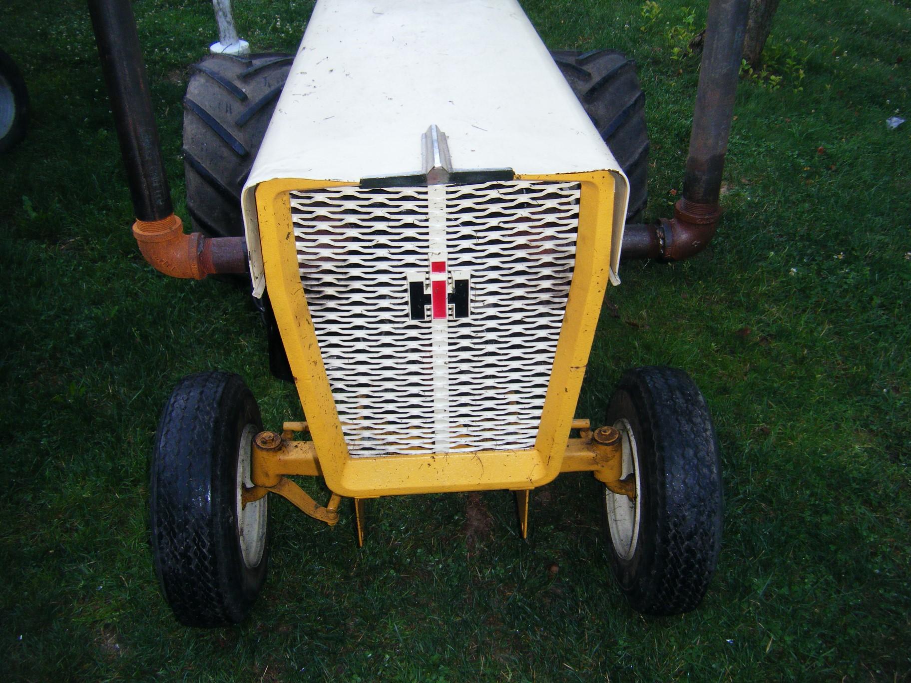 Cub Cadet Tractor Seat : Fiberglassics my cub cadet pulling tractor