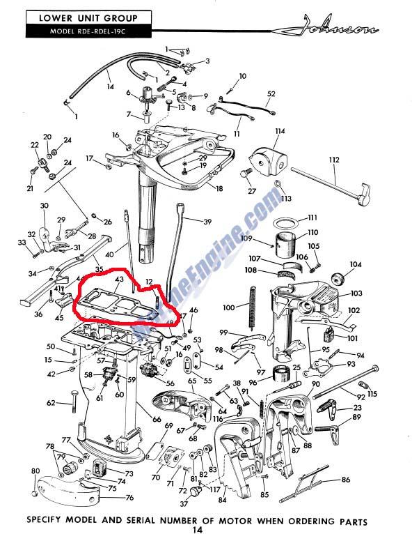 FG Throttle Pivot Post 2,1 M