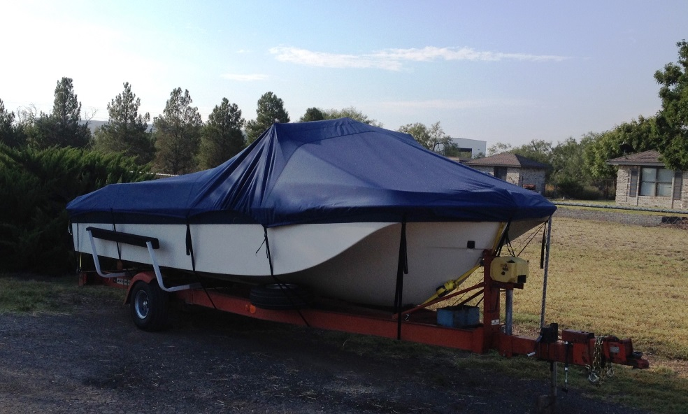 how to make a mooring cover