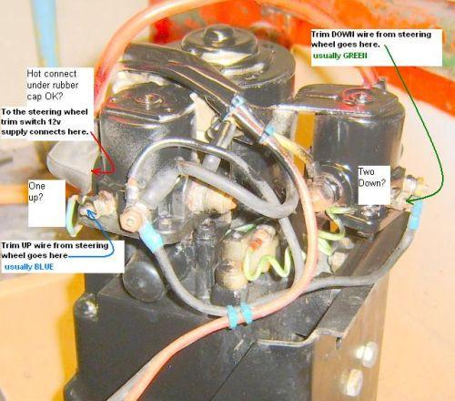 FiberGlassics® - Mercury Power Trim and Tilt Question