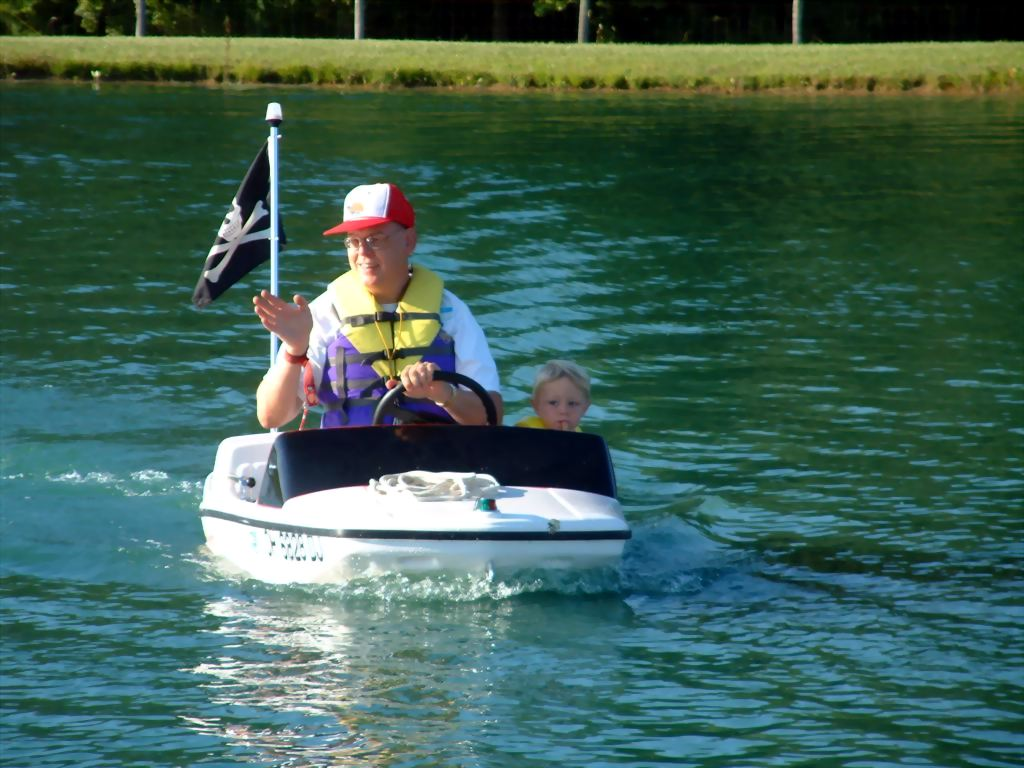 FiberGlassics® - Toy boat you could pilot: Buffalo Mini Boat ...
