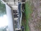 1958 GLASSTRON 35HP MERCURY TRAILER