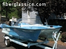 1960 14' CustomCraft MantaRay stepped hull Catamaran
