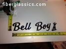 BELL BOY emblem wanted