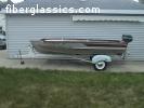 Bowman Boat, Mercury Motor, and Tee Nee Trailer