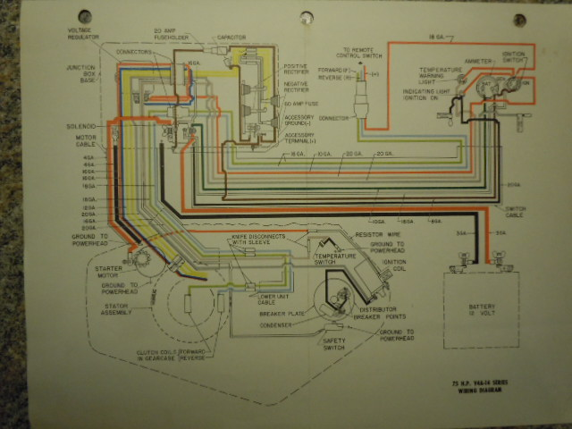FiberGlassics® - 1962 Johnson Electramatic 75 hp wiring diagram -  FiberGlassics® ForumsFiberGlassics